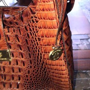 Brahmin Bags - Brahmin purse croc style great shape lots of room